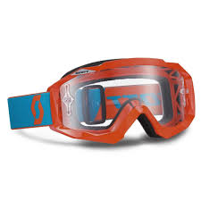 youth motocross boots clearance scott hustle goggle orange blue sale motorcycle goggles