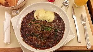 lapin de cuisine boulets de liège sauce lapin et purée picture of mokafe brussels
