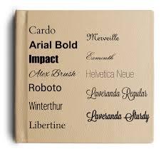 engravable photo album books font options for engraved album covers album