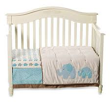 Sumersault Crib Bedding Sumersault Spotted Ellie Crib Bedding Collection Buybuy Baby