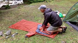 Exped Sim Comfort 5 Exped Mat Deflation Tips Youtube