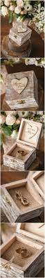 engraved pillows best 25 diy wedding ring box ideas on ring bearer box