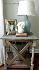 Living Room Side Tables Angie Henry Uploaded This Image To White Rustic X Table See