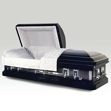 black caskets metal caskets