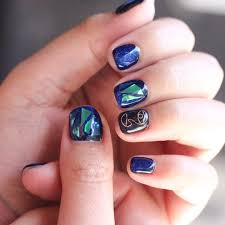 wearing nail art made of metal is seoul u0027s hottest fashion trend