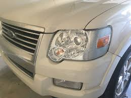 Ford Explorer Headlights - trs morimoto projectors h1s complete ford explorer and ford