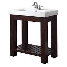 12 Inch Deep Vanity 31 Inch Single Bathroom Vanity With Open Shelf Uvaclexivs30le31