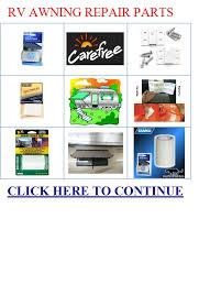 Rv Awning Repair Parts Rv Appliances Rv Awning Repair Parts