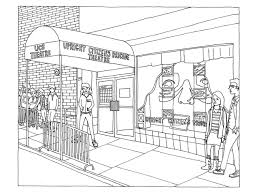 11 images of los angeles buildings coloring page coloring