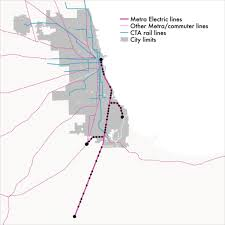 Hyde Park Chicago Map by Metra U0027s Not So Electric Plan