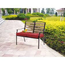 Patio Bench Walmart Mainstay Patio Furniture Replacement Parts Home Outdoor Decoration