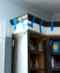 How To Strip Paint From Cabinets How To Add Height To Kitchen Cabinets