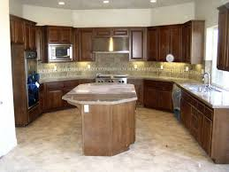 Small L Shaped Kitchen Designs With Island Kitchen Kitchen Island Marble Faux Brick Tile Regarding Electric