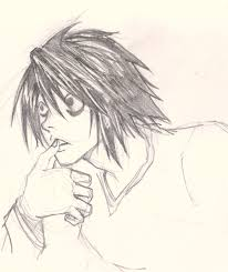 photo collection death note sketches l