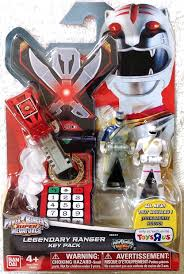 amazon power rangers key pack wild force white red