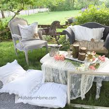 bohemian garden party decor hallstrom home