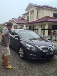 tigerlim com test drive nissan teana for 3 days 2 nights day 1