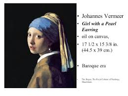 vermeer the girl with the pearl earring painting johannes vermeer denmark girl with a pearl earring ppt