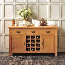 oakland sideboard with wine rack 608 031 with free delivery