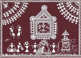 Warli Art Simple Designs 188 Best Warli Paintings Images On Pinterest Tribal Art Indian