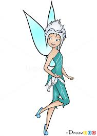 draw periwinkle tinker bell