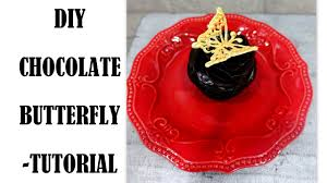 Diy Chocolate Butterfly Tutorial How To Youtube