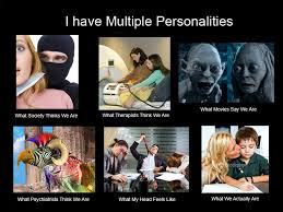 Multiple Picture Meme - multiple personalities think meme by echosea on deviantart