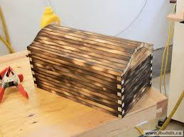 how to make a wooden treasure box page 1