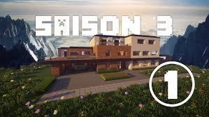 Maison Modern Minecraft by Construction D U0027une Maison Moderne Sur Minecraft Saison 3 1 8