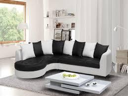 canape blanc noir canape blanc angle idées de décoration intérieure decor