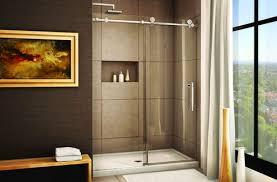 shower glass sliding doors sliding shower doors frameless sliding glass bathroom doors