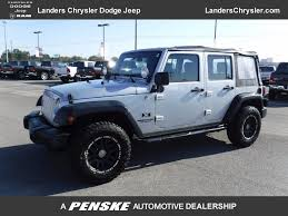Wrangler 2009 2009 Used Jeep Wrangler Unlimited 4wd 4dr X At Landers Chrysler