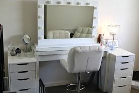 Oak Makeup Vanity Table Modern Bedroom Vanity Tables Furniture Makeup Vanity Set White