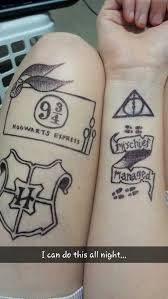harry potter u0027tattoos u0027 by jendrawsit on deviantart