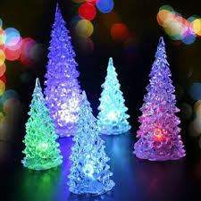 Lighted Christmas Decorations by Popular Acrylic Led Tree Buy Cheap Acrylic Led Tree Lots From