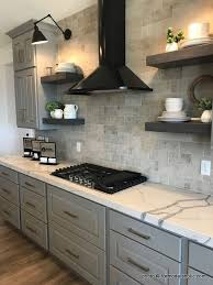 grey kitchen countertops with white cabinets remodelaholic grey and white kitchen cabinet ideas