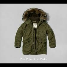 Green Parka Jacket Mens Mens Abercrombie U0026 Fitch Green Parka Pine Point Trail Parka Olive