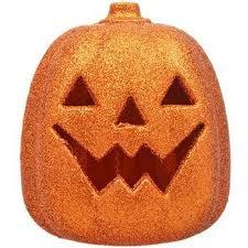 plastic pumpkins led glittery orange plastic pumpkins autumn fall
