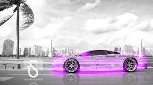 Lamborghini Murcielago Purple - lamborghini murcielago crystal city car 2013 el tony