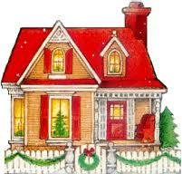 house animated christmas house graphics picgifs com