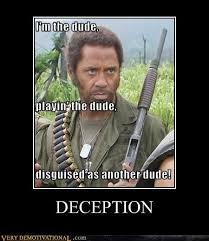 Tropic Thunder Meme - very demotivational tropic thunder very demotivational posters