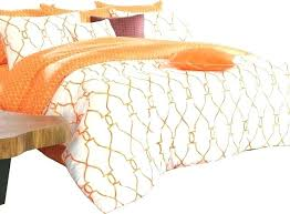 cotton duvet covers king orange single duvet cover orange duvet