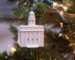 philadelphia pa lds temple christmas ornament