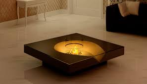 Elegant Coffee Tables by Furniture Coffee Tables With Fire Ideas Adding Warmth Atmosphere