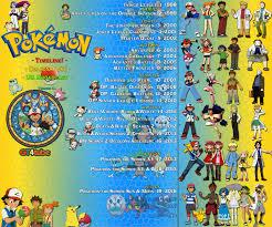 pokemon timeline seasons list us broadcast v5 1 by gt4tube on