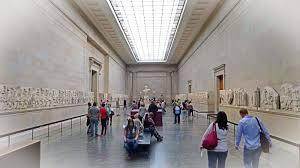 Parthenon Interior Athens Hosts International Conference On Parthenon Sculptures
