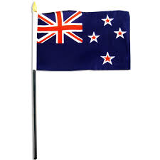 European Flags Images New Zealand Flag 4 X 6 Inch