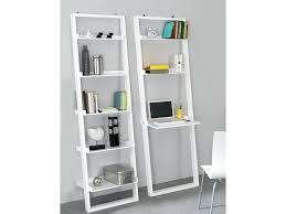5 Tier Bookshelf Ladder Bookcase Leitern White 5 Tiered Ladder Shelf Bookcase Display