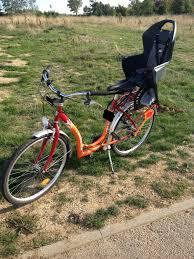 fabriquer son porte velo nos jolies balades à vélo avec bébé test chez magasaly