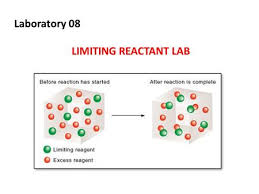 objectives to understand the concept of limiting reactants ppt